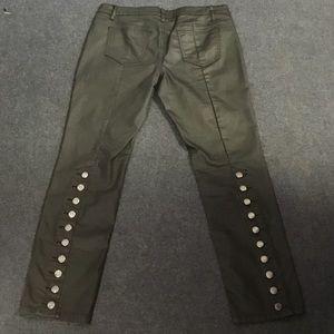 Button Studded sexy Venus jean pants